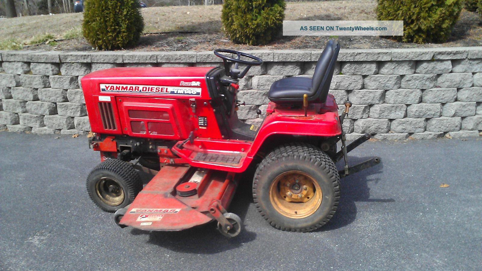 yanmar lawn tractors
