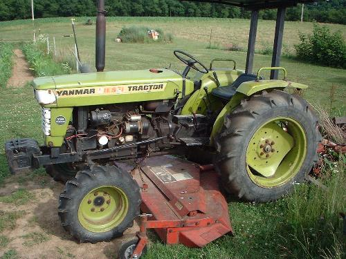 Our Yanmar YM-240D 4x4 Tractor
