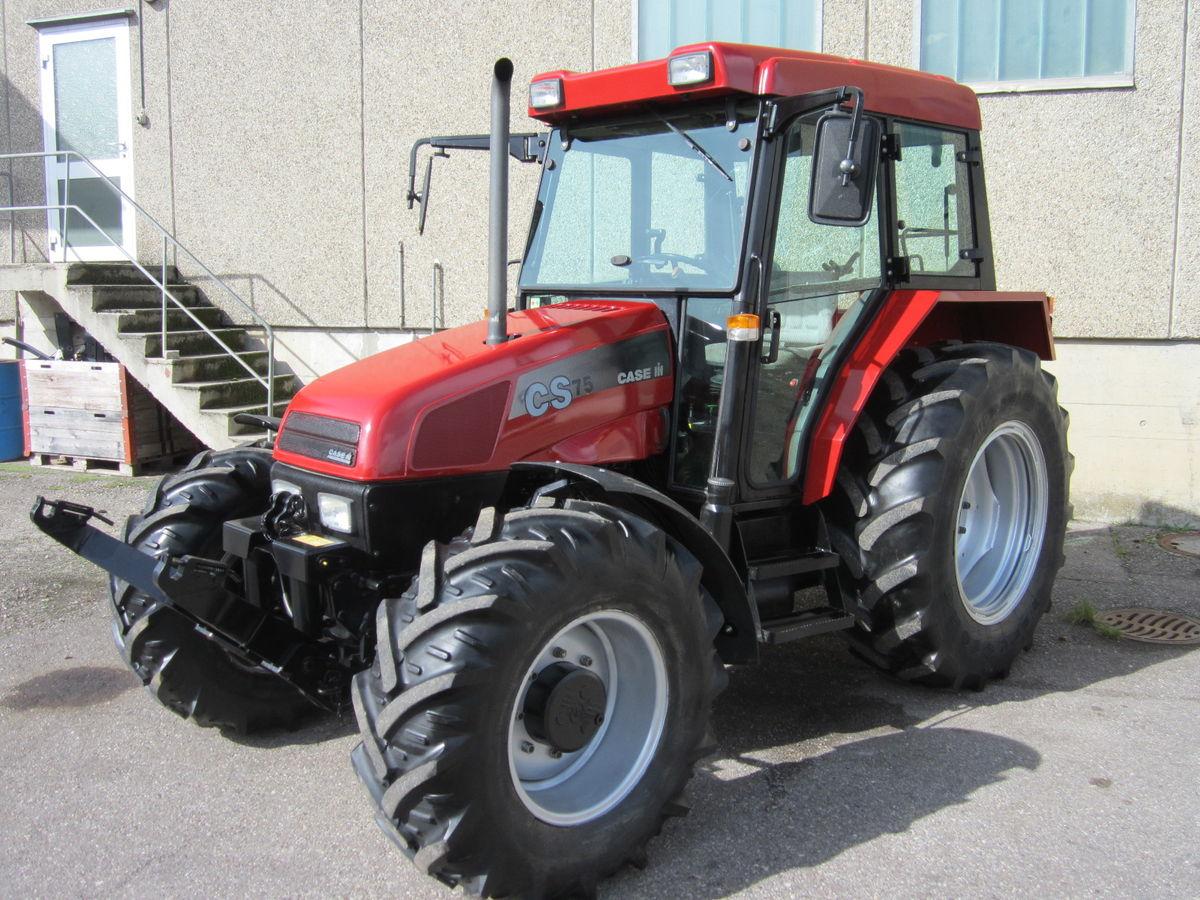 Case IH CS 75a Komfort - 30 km/h hydraulisches Bremsventil - Landwirt ...