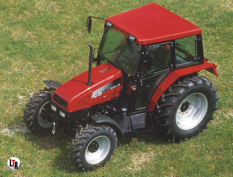 CS 58 COMPACT cabine basse - 1997 (photo CASE-IH)