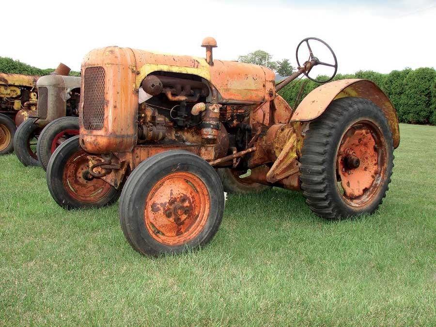 Centaur's farm tractor, the KV (Klear View).