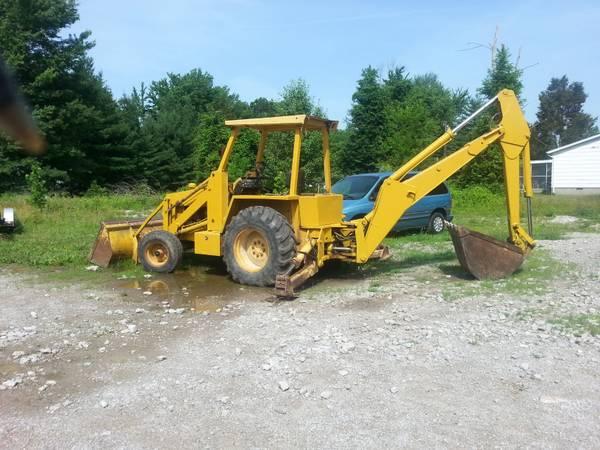 Diesel 715b Allis Chalmers Backhoe - $8500 | Garden Items For Sale ...