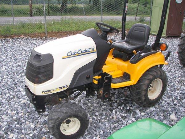 1111: Cub Cadet 5234D 4x4 Lawn and Garden Tractor : Lot 1111