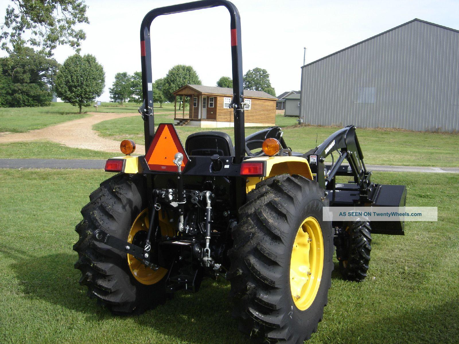 Cub Cadet Yanmar Ex450 Compact Utility Tractor Tractors photo 2
