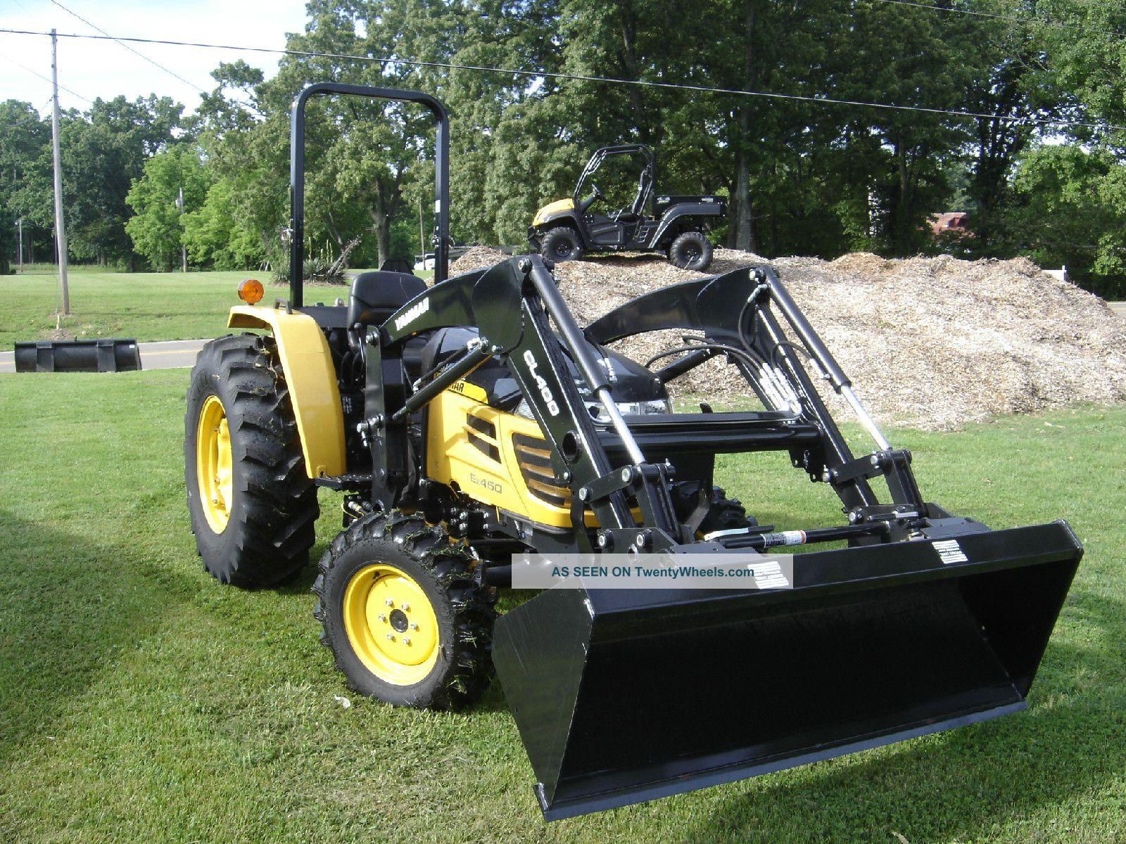 Cub Cadet Yanmar Ex450 Compact Utility Tractor Tractors photo 1
