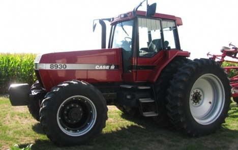 1998 CaseIH 8930 with 2,990 Hours: Sold $84,500 (new record auction ...