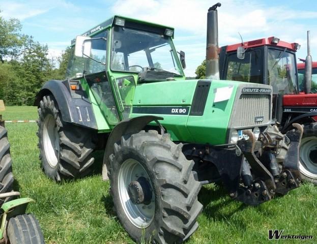 Deutz-Fahr DX 90 - 4wd tractors - Deutz-Fahr - Machine Guide ...