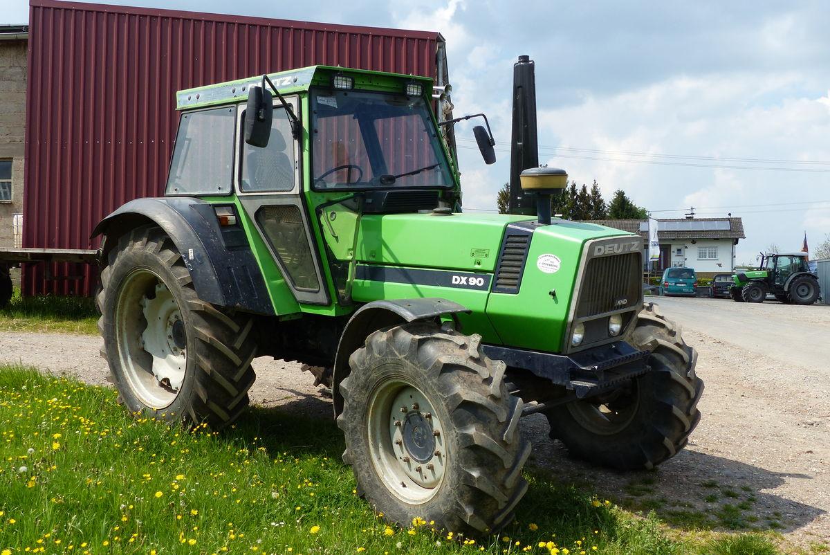 Deutz Fahr DX 90 A - Allrad - Landwirt.com