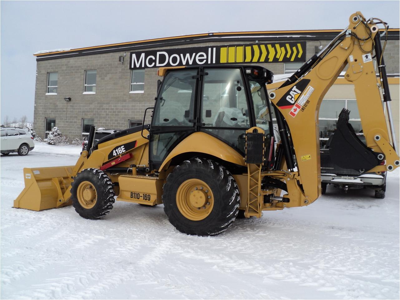 2012 CATERPILLAR 416E Backhoe for sale - McDowell B Equipment Sudbury ...