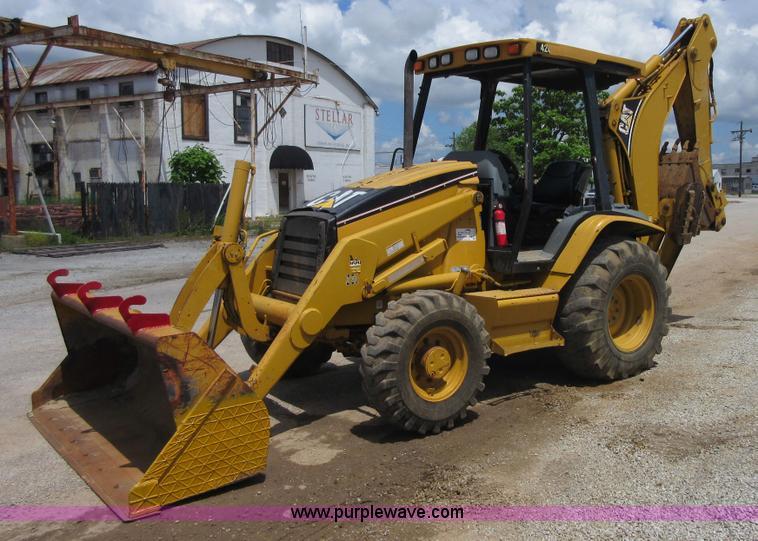 - 2001 Caterpillar 420D backhoe, 2,426 hours on meter, Caterpillar ...