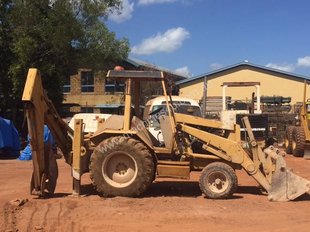 Parts and Wrecking 1991 Caterpillar 428 II Backhoe Loader Wrecking in ...