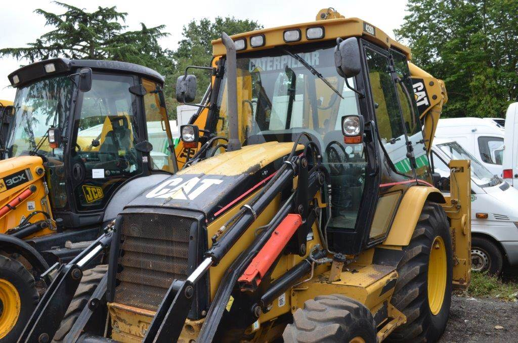 Caterpillar 428D Surrey Backhoe loaders, Price: £21,500, Year of ...