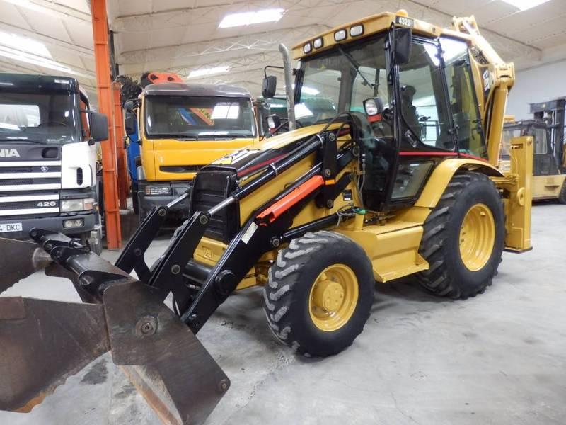 backhoe loader caterpillar 432d brand caterpillar model 432d year of ...