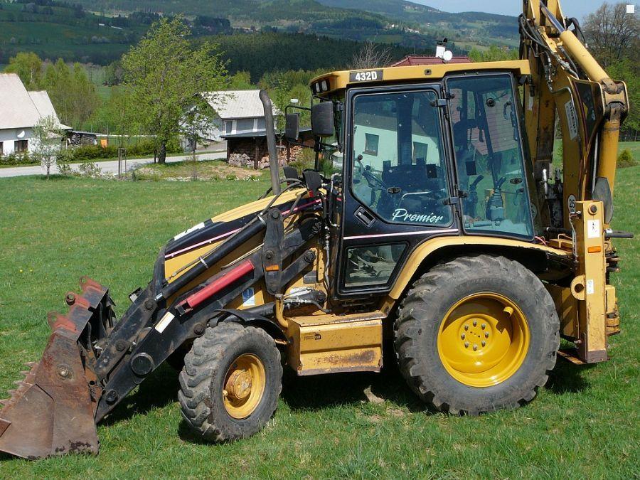 Продажа Экскаватор Caterpillar 432D Premier 2005 ...