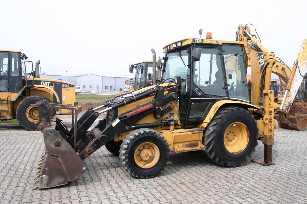 Buldoexcavator Second Hand Caterpillar 432D - Utilben