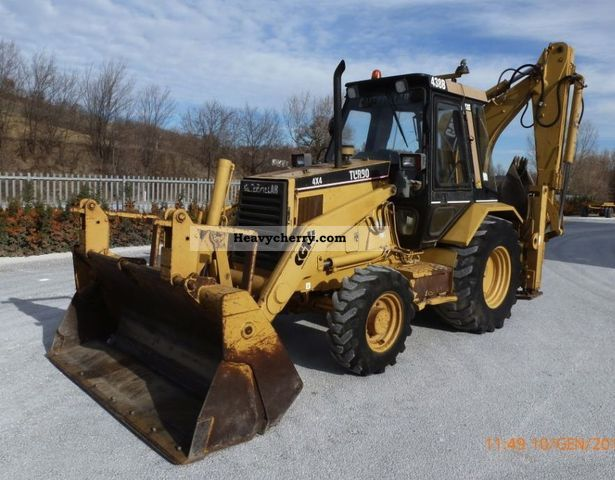 CAT 438 B 1995 Combined Dredger Loader Construction Equipment Photo ...