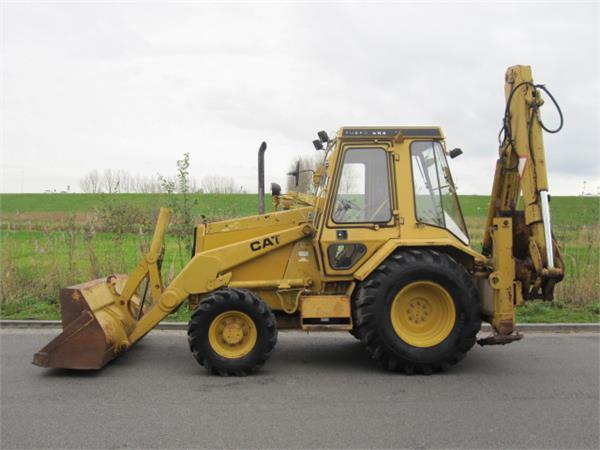 Caterpillar 438 - Year: 1990 - Backhoe loaders - ID: A54E8589 - Mascus ...