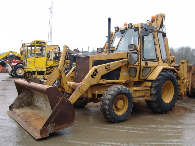 CAT 438 Serial II wheel excavator from Netherlands for sale at Truck1 ...