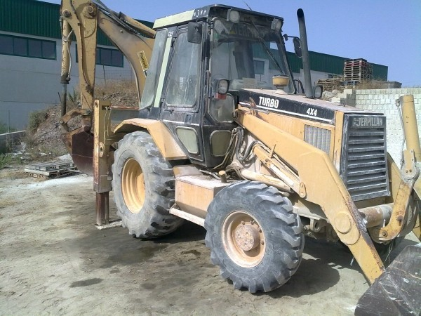 Caterpillar 438B backhoe loader from Spain for sale at Truck1, ID ...