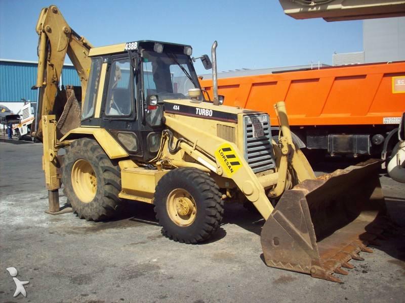 Used Caterpillar rigid backhoe loader CAT 438B - n°231483 - Picture 3 ...