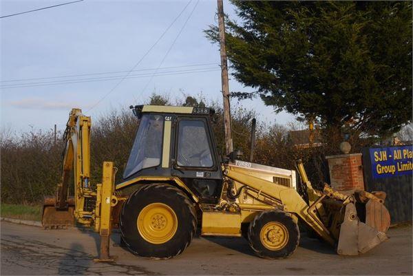 Caterpillar 438B - Year: 1995 - Backhoe loaders - ID: B5F0EA97 ...