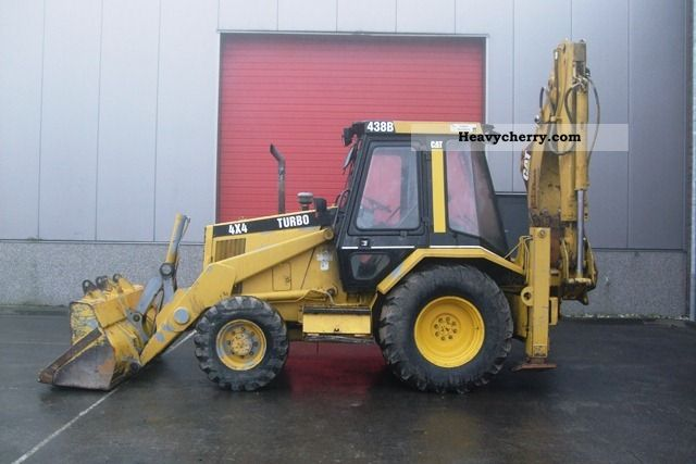 CAT 438B 1994 Combined Dredger Loader Construction Equipment Photo and ...