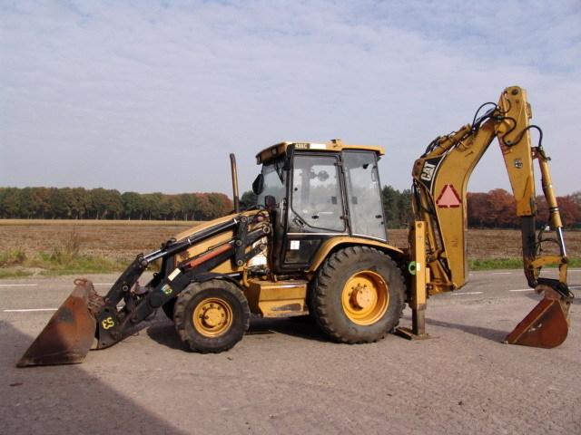 CAT 438C TELE backhoe loader from Netherlands for sale at Truck1, ID ...