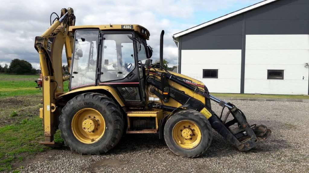 438C for sale - Price: $18,572, Year: 1997 | Used Caterpillar 438C ...