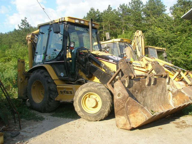 CATERPILLAR 438D backhoe loader from Lithuania for sale at Truck1, ID ...