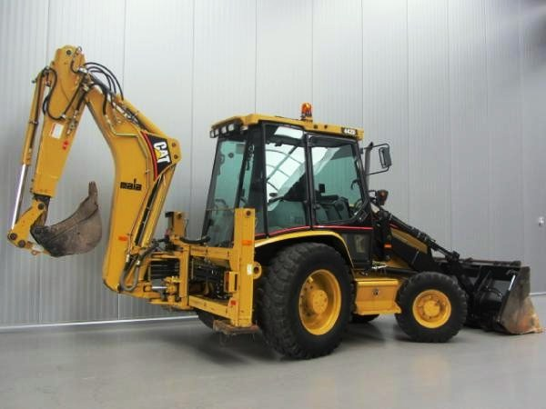Buldoexcavator Caterpillar 442D Oferta Second Hand - Utilben